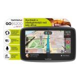 Navigace TomTom GO 6200 World, Wi-Fi, LIFETIME mapy