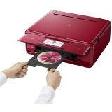 Tiskárna multifunkční Canon PIXMA TS8052 A4, 15str./min, 10str./min, 9600 x 2400, duplex, WF, USB - červená