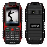 Mobilní telefon Aligator R12 eXtremo - černý/červený