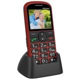 Mobilní telefon CPA Halo 11 Senior - červený