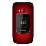 Mobilní telefon CPA Halo 15 Senior - červený