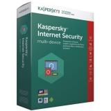 Software Kaspersky Internet Security multi-device 2017 CZ, 3 zařízení, 1 rok, nová licence, box + 3 měsíce navíc zdarma