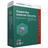 Software Kaspersky Internet Security multi-device 2017 CZ, 1 zařízení, 1 rok, nová licence, box + 3 měsíce navíc zdarma