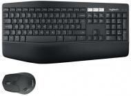 Klávesnice s myší Logitech Wireless Combo MK850 Performance, US - černá