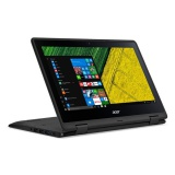 "Ntb Acer Spin 1 (SP111-31-C5ZR) Celeron N3450, 4GB, 32GB, 11.6"", Full HD, bez mechaniky, Intel HD, BT, CAM, W10  - černý"