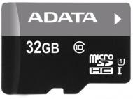 Paměťová karta ADATA 32GB Class 10 UHS-U1 (50R/10W) + čtečka MicroReader Ver.3
