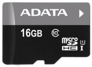 Paměťová karta A-Data 16GB Class 10 UHS-U1 (50R/10W) + čtečka MicroReader Ver.3