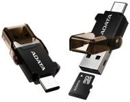 Čtečka paměťových karet ADATA s duálním konektorem (USB-C + USB 3.1)