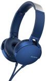 Sluchátka Sony MDR-XB550AP Extra Bass™ - modrá