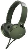 Sluchátka Sony MDR-XB550AP Extra Bass™ - zelená