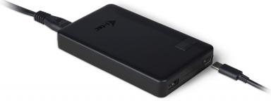 Napájecí adaptér i-tec SMART Charger, USB-C (60W), USB (10W)