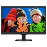 "Monitor Philips 193V5LSB2 18.5"",LED, TFT, 5ms, 700:1, 200cd/m2, 1366 x 768,"