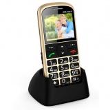 Mobilní telefon CPA Halo 11 Senior - zlatý