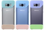 Kryt na mobil Samsung 2 dílný pro Galaxy S8+ (3ks) - mint/modrá/violet - modrý/fialový/tyrkysový