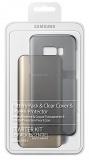 Kryt na mobil Samsung Clear Cover + Baterry Pack pro Galaxy S8+ - průhledný