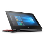 "Ntb HP ProBook x360 11 G1 Pentium N4200, 4GB, 128GB, 11.6"", HD, bez mechaniky, Intel HD 505, BT, CAM, W10  - červený"