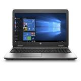 "Ntb HP ProBook 650 G3 i5-7200U, 4GB, 256GB, 15.6"", Full HD, DVD±R/RW, Intel HD 620, BT, FPR, CAM, Win10 Pro  - černý/stříbrný"