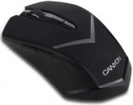 Myš Canyon CNE-CMSW3 / optická / 6 tlačítek / 1600dpi - černá
