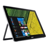 "Ntb Acer Switch 5 (SW512-52-73MS) i7-7500U, 8GB, 512GB, 12"", 2160 x 1440, bez mechaniky, Intel HD 620, BT, FPR, CAM, W10  - černý"