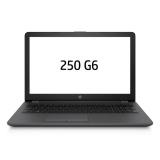 """Ntb HP 250 G6 i3-6006U, 4GB, 256GB, 15.6"""", HD, DVD±R/RW, Intel HD 520, BT, CAM, bez OS  - černý"""