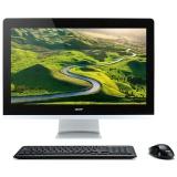 """Počítač All In One Acer Aspire AZ3-715 23,8"""",i3-7100T, 4GB, 1TB, DVD±R/RW, HD, Linux - černý"""