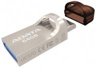 Flash USB ADATA UC370 64GB USB 3.1 - zlatý