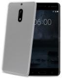 Kryt na mobil Celly Gelskin na Nokia 6 - průhledný