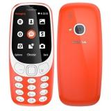 Mobilní telefon Nokia 3310 (2017) Dual SIM - červený