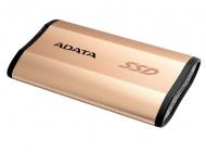 SSD externí ADATA ASE730 512GB - zlatý
