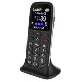 Mobilní telefon Aligator A510 Senior - černý