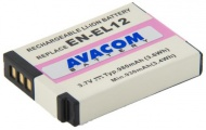 Baterie Avacom Nikon EN-EL12 Li-ion 3,7V 980mAh