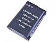 Baterie Avacom Nikon EN-EL23 Li-Ion 3.8V 1400mAh