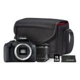 Fotoaparát zrcad. Canon EOS 2000D + 18-55 IS II + SB130 + 16GB karta