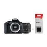 Zrcadlovka Canon EOS 2000D + 18-55 IS II + LP-E10