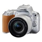 Zrcadlovka Canon EOS 200D + 18-55 IS STM, stříbrný