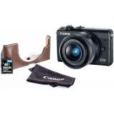 CSC fotoaparát Canon EOS M100 + M 15-45 IS STM + VUK, černý