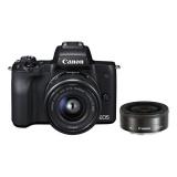 CSC fotoaparát Canon EOS M50 + M 15-45 IS STM + M22