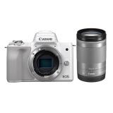 Digitální fotoaparát Canon EOS M50 + M18-150, bílý