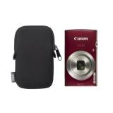 Fotoaparát Canon IXUS 185 + orig.pouzdro, červený