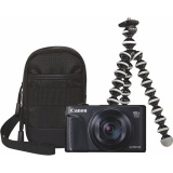 Fotoaparát Canon PowerShot SX740 HS, TRAVEL KIT, černý