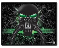 Podložka pod myš Connect IT Battle RNBW malá, 32 x 26 cm - černá