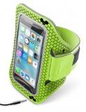 """Pouzdro na mobil sportovní CellularLine Armband running, 5,2"""" - zelené"""