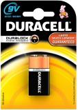 Baterie alkalická Duracell Basic 9V, LF22, blistr 1ks