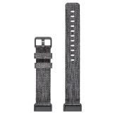 Náramek Fitbit pro Charge 3 tkaný vel. L - charcoal