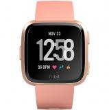 Chytré hodinky Fitbit Versa (NFC) - Peach / Rose Gold Aluminum