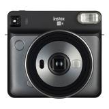 Fotoaparát Fujifilm Instax Square SQ 6, šedá/eerná