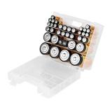 Baterie alkalická GoGEN BOX, 35 ks - 14xAAA, 12xAA, 4xC, 4xD,1x9V