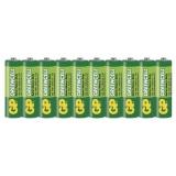 Baterie zinkochloridová GP Greencell AA, R06, fólie 10ks