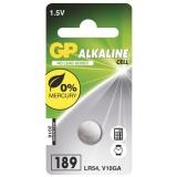 Baterie alkalická GP LR54, 189, blistr 1ks