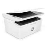 Tiskárna multifunkční HP LaserJet Pro MFP M28w A4, 18str./min, 0str./min, 600 x 600, 32 MB, manuální duplex, WF, USB - bílý